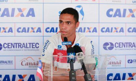 Eder deve substituir Eduardo contra o São Paulo e acredita na conquista dos três pontos no Morumbi