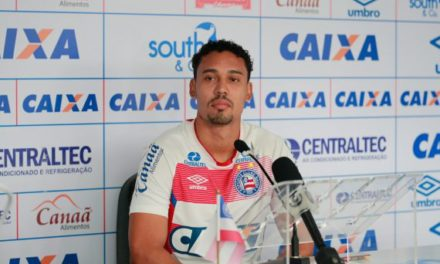Edigar Junio pede foco total da equipe para o Bahia conquistar três pontos no jogo com a Ponte Preta