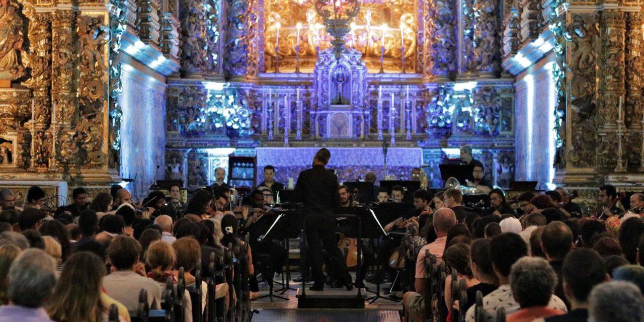 Igreja de São Francisco recebe concerto gratuito da OSBA