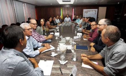 Pacificação em Correntina foi discutida pelo governador e oito secretários