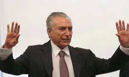 Após se submeter a uma angioplastia Michel Temer deixa o Sírio-Libanês na segunda, 27