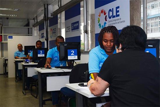 Central licencia mais de 500 eventos nos últimos seis meses em Salvador