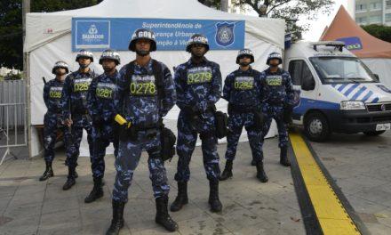 Profissionais da Guarda Civil realizam treinamento no IBAMA