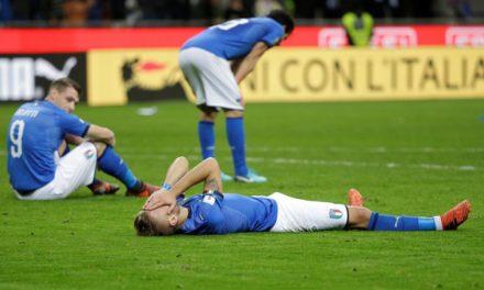 Itália fora da Copa do Mundo na Rússia