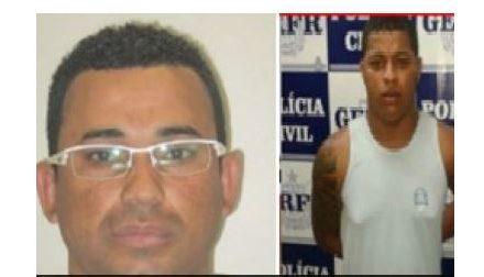 Polícia apresenta dupla envolvida no assassinato de subtenente PM