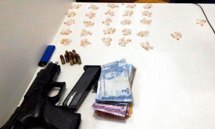 PM prende homem com pistola de fabricação israelense no Calabar