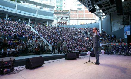 Proerd forma mais de 3 mil estudantes na Concha Acústica