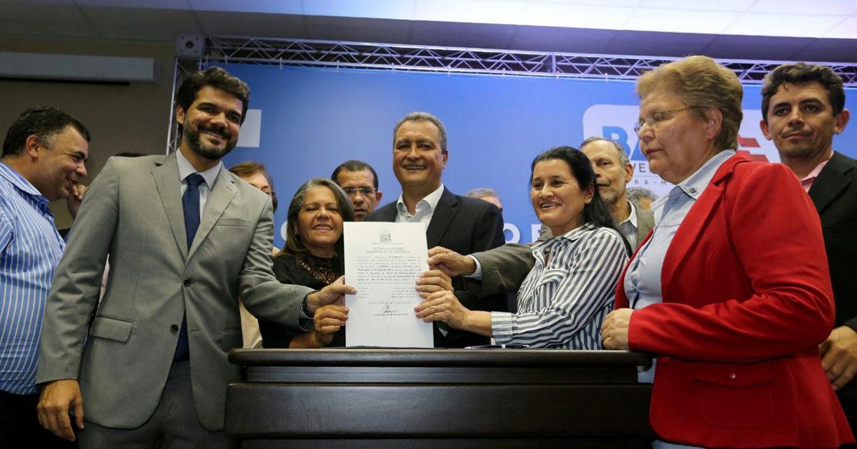Governo celebra R$ 37 milhões em convênios com 61 municípios