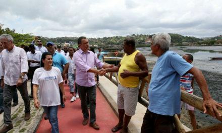 Entregue obra de urbanização da pista de borda em São João do Cabrito