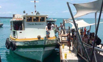Com seis embarcações em operação a travessia Salvador-Mar Grande não tem filas nesta terça-feira