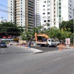 Mudanças viárias no Imbuí serão concluídas nesta semana