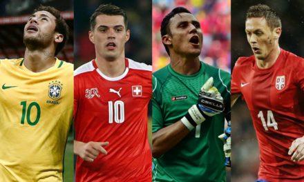 Brasil pega Suíça, Costa Rica e Sérvia na fase de grupos da Copa do Mundo da Rússia