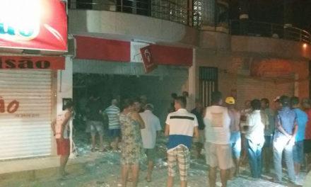 Polícia procura bandidos que explodiram agência do Bradesco de Adustina