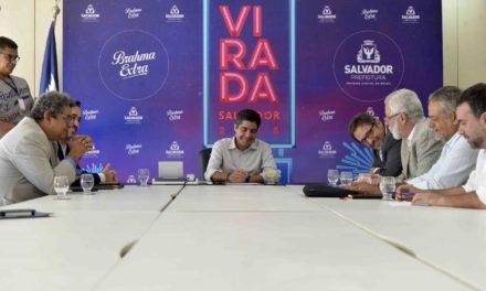 Festival da Virada em Salvador terá cobertura nacional da Band