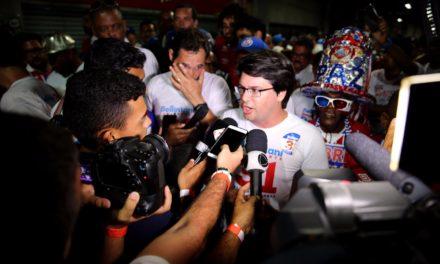 Bellintani disse que vai trabalhar para melhorar o relacionamento entre o torcedor do Bahia e a Arena Fonte Nova