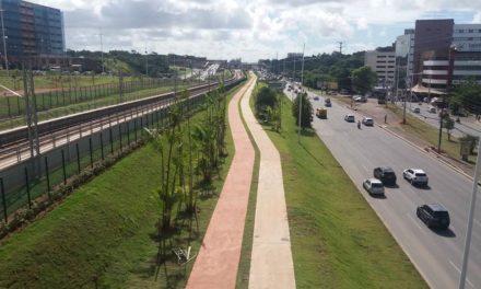 Projeto da nova ciclovia do metrô foi apresentado em reunião no estádio de Pituaçu