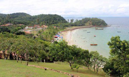 Na alta estação Ilha dos Frades deverá receber 5 mil turistas por fim de semana