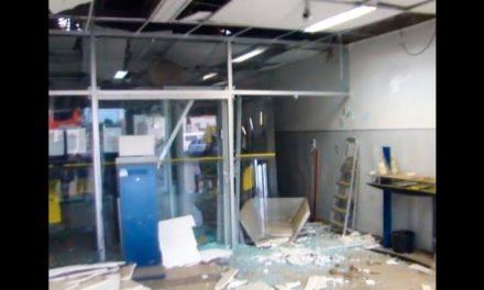 Bandidos explodem agência do BB de Malhada, no centro sul baiano