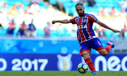 Bahia anuncia a permanência de Régis por mais três anos no clube