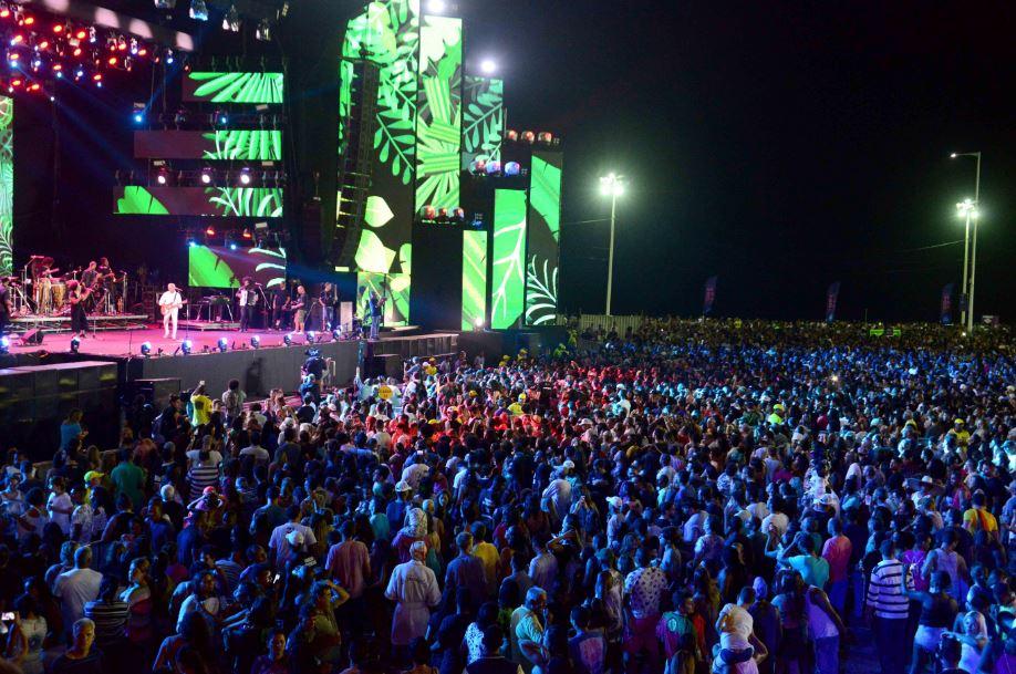 Primeira noite do festival tem número baixo de ocorrências