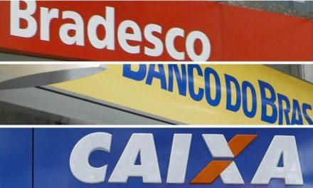 Agências bancárias reabrem até quinta-feira para atendimento ao público