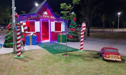 Prefeitura inaugura Casa do Papai Noel no Parque da Cidade