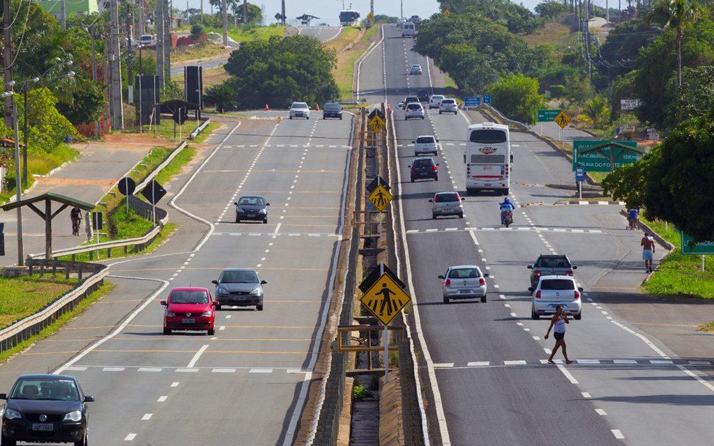 CLN realiza obras de manutenção na Estrada do Coco e Linha Verde