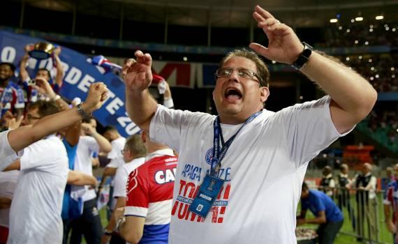 Bahia avisa em seu site que Guto Ferreira está de volta ao tricolor