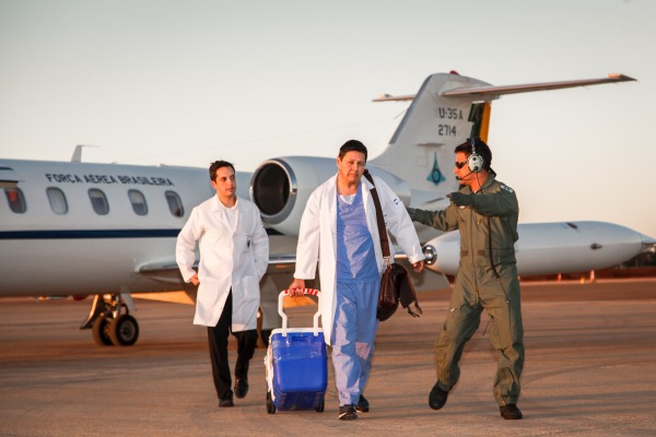 Cresce o número de órgãos e tecidos transportados via aérea em 2107