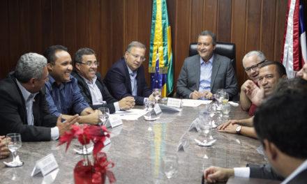 Em reunião com prefeitos, Rui discute instalação de policlínica em Vitória da Conquista