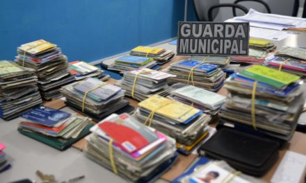 Guarda Municipal entregará documentos perdidos durante Carnaval