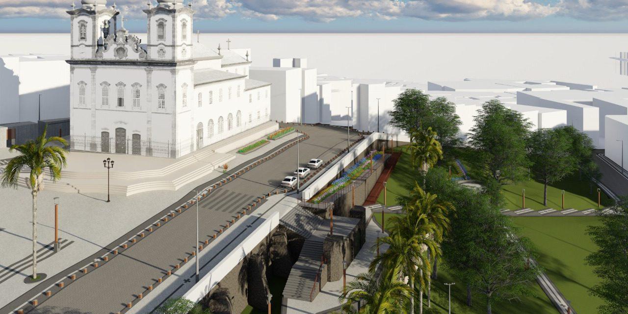 Colina Sagrada será requalificada, prefeitura lança edital nesta quarta (10)