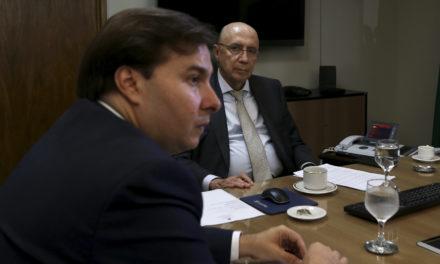 Meirelles se reúne com Maia para discutir reforma da Previdência
