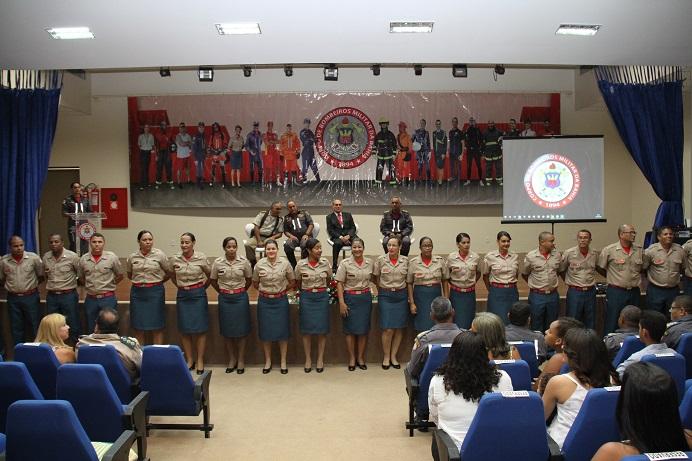 Corpo de Bombeiros realiza formatura de 27 subtenentes