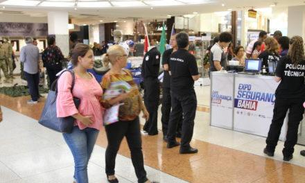 Expo Segurança exibe equipamentos e tecnologia em shopping