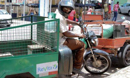 Limpurb utiliza veículos alternativos para coleta em locais de difícil acesso