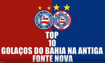 Bahia: reveja 10 gols do tricolor na Fonte Nova em nosso Túnel do Tempo