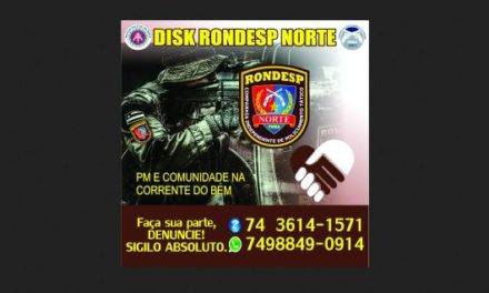 Disque Denúncia da Rondesp Norte começa a funcionar em Juazeiro