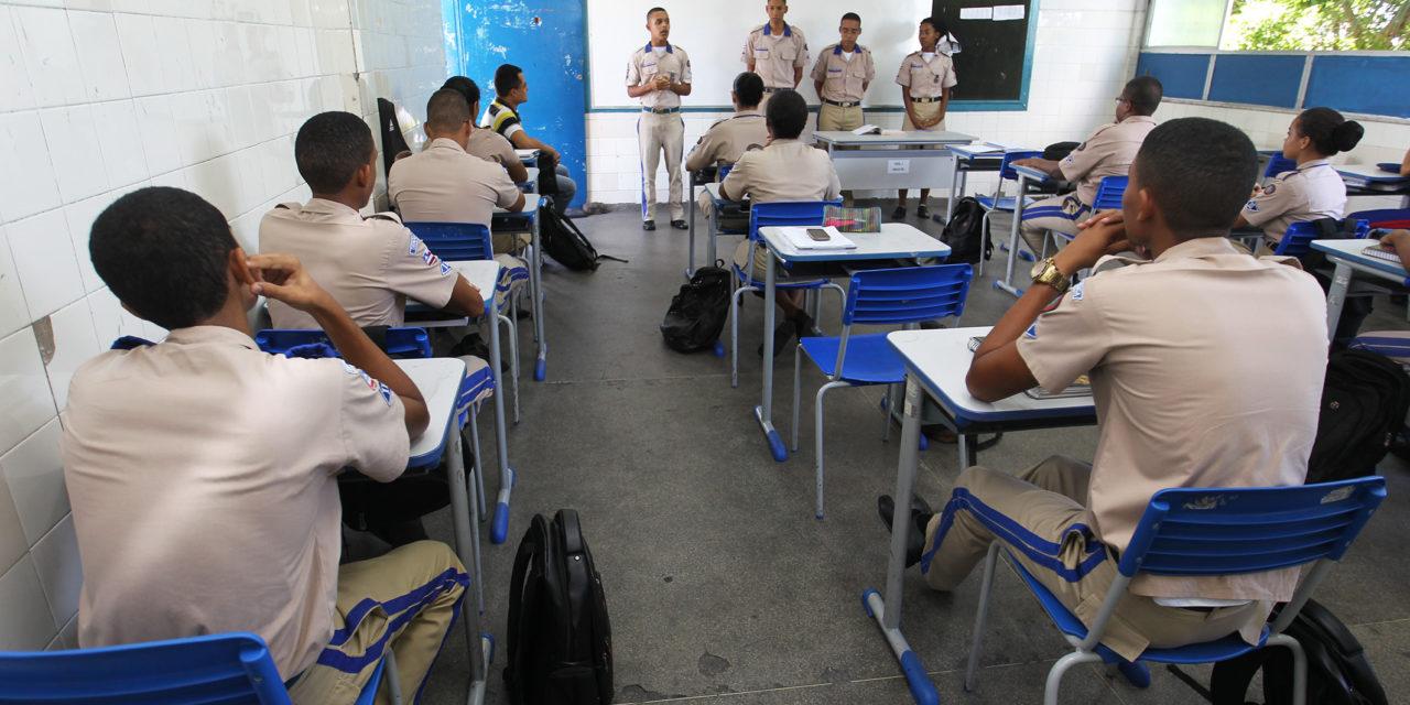 Abertas as inscrições para creche e colégios da PM na Bahia