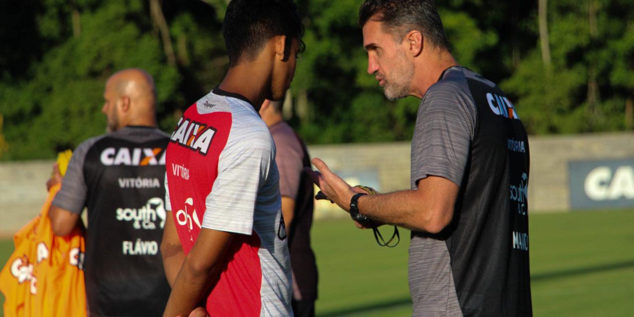 Vitória intensifica treinamentos para enfrentar o Globo-RN pela Copa do Nordeste