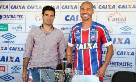 Nilton diz que quer dar o melhor dele no Bahia