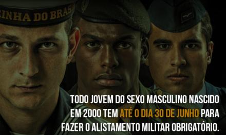 A partir deste ano, é possível fazer o alistamento militar pela internet em todo o Brasil