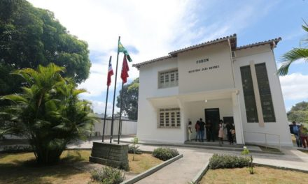 Rui inaugura fórum em São Gonçalo dos Campos