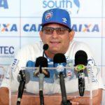 Guto Ferreira participa de entrevista coletiva e fala da estreia do Bahia na Copa do Nordeste