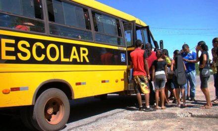 Professores poderão ser incluídos em transporte escolar de alunos