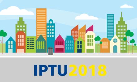 População começa a receber boletos de IPTU 2018 nesta segunda-feira (15)