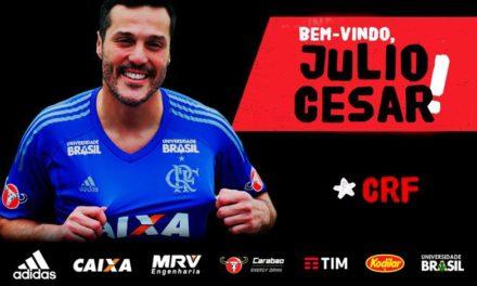 Goleiro Julio Cesar volta ao Flamengo