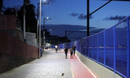 Novo trecho da orla do Subúrbio será inaugurado pela Prefeitura neste sábado (25)