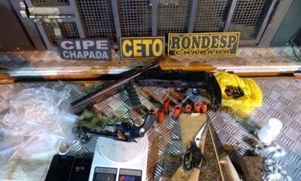 Polícia mata traficantes durante operação que desarticulou quadrilha de traficantes em Itaberaba