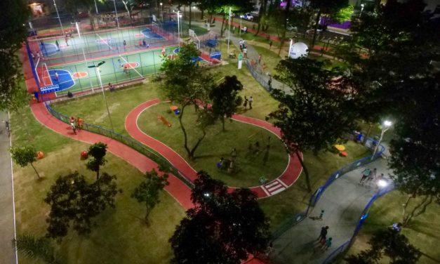 Prefeitura requalifica iluminação de 40 equipamentos esportivos